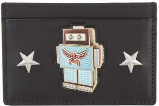 MCM Roboter Leather Card Holder