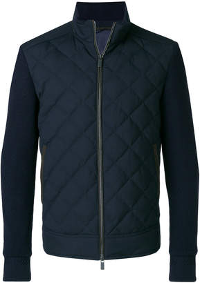 Ermenegildo Zegna quilted body jacket