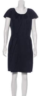Christian Dior Gathered Mini Dress