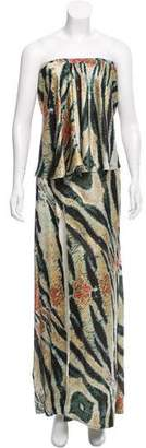Baja East Silk Maxi Dress w/ Tags