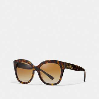 ecb2791e16c Coach Signature Square Sunglasses