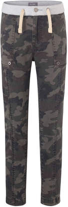 DL1961 Dl 1961 Boys' William Camo-Print Track Chino Pants, Size Youth 7-18