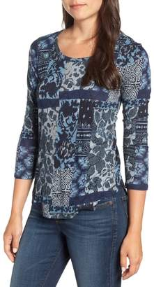 Lucky Brand Patch Print Tee