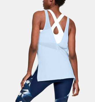 Under Armour Women's HeatGear Scoop Tank