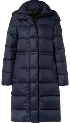 Canada Goose Arosa Hooded Quilted Shell Down Parka - Navy