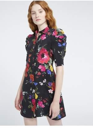 Alice + Olivia Jem Floral Mini Dress