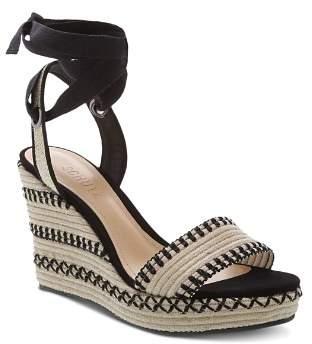 Schutz Women's Electra High-Heel Wedge Sandals