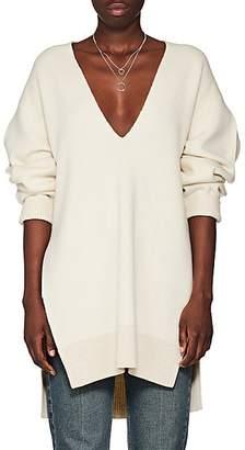 Proenza Schouler Women's Wool-Blend Tunic Sweater - Offwht