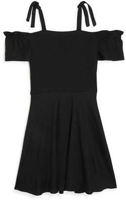 Sally Miller Girls' Textured Kerry Dress - Big Kid