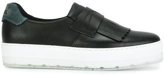 Diesel platform sneakers $163.59 thestylecure.com