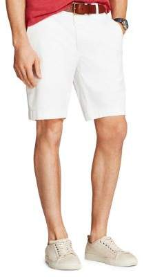 Brooks Brothers Red Fleece Twill Stretch Garment-Dyed Shorts