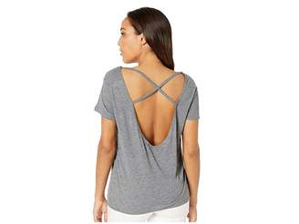 Alternative Cross-Back Slinky Jersey T-Shirt