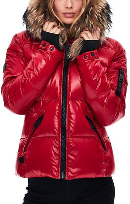 SAM. Blake Fur-Trim Down Coat $575 thestylecure.com