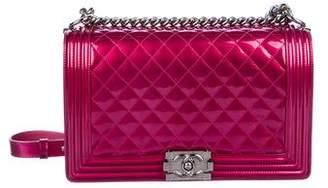 Chanel Patent Medium Plus Boy Bag
