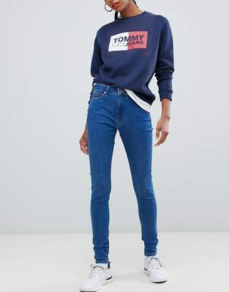 Tommy Jeans super high rise skinny jean