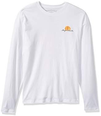 Margaritaville Men's Long Sleeve Scenic Surfboard T-Shirt