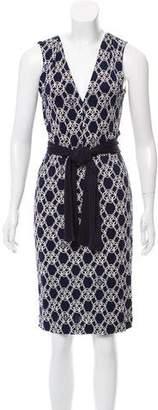 Tory Burch Printed Knee-Length Dress w/ Tags