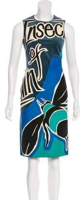 Burberry Suede Knee-Length Dress