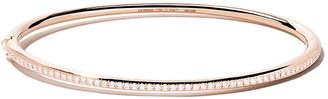 De Beers 18kt rose gold Micropavé diamond bangle