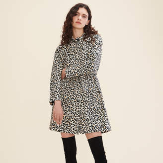 Maje Leopard print coat