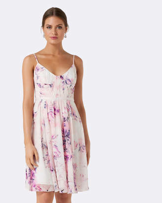 Forever New Rachel Rouched Soft Prom Dress