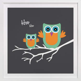 Hoo Hoo Self-Launch Children's Art Print