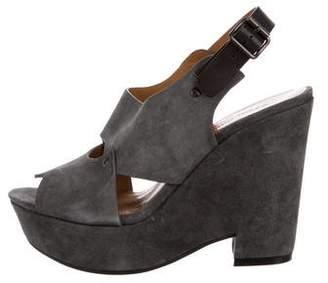 See by Chloe Suede Wedge Sandals