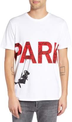 Eleven Paris ELEVENPARIS Parking Print T-Shirt