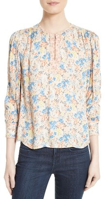 Women's Rebecca Taylor Silk Blouse $295 thestylecure.com