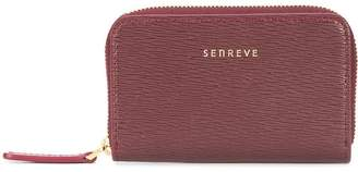 Senreve logo zipped wallet