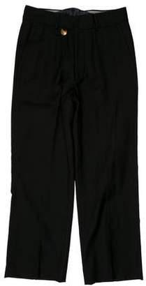 Maison Margiela Woven Wool Pants