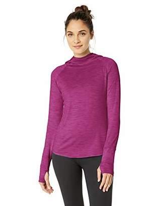 Core 10 Amazon Brand Women's Standard Be Warm Brushed Thermal Hoodie