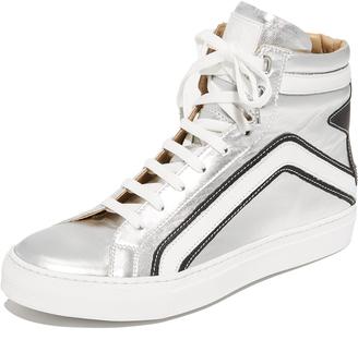 Belstaff High Top Sneakers $495 thestylecure.com