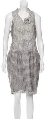 Chanel Fantasy Tweed Sheath Dress