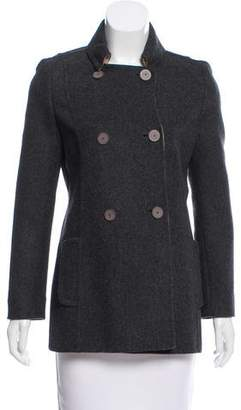 Maurizio Pecoraro Double-Breasted Wool Jacket