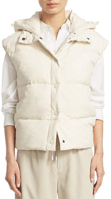 Vince Light Puffer Down Vest