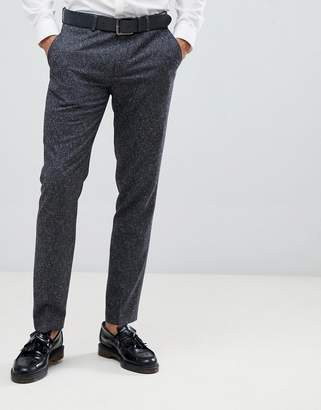 Farah Henderson Fleck slim fit suit pants