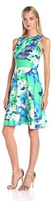 Donna Morgan Women's Sleeveless Fit and Flare Dress $55.99 thestylecure.com