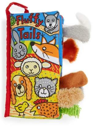 Jellycat 'Fluffy Tails' Fabric Book