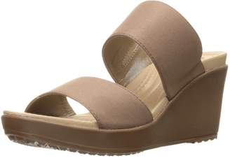 Crocs Women's Leigh II 2 Strap Wedge Sandal