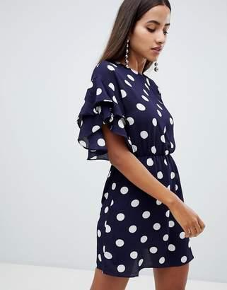 AX Paris polka dot shift dress