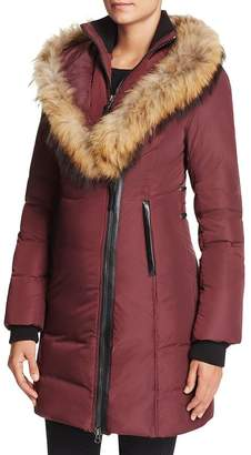 46939a7d8ad0 Womens Down Coat With Fur Trim Hood Mackage - ShopStyle