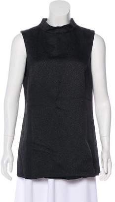 Gucci Textured Sleeveless Top