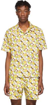 Rochambeau Yellow Brad Pitt Shirt