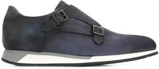 Santoni monk-styles sneakers