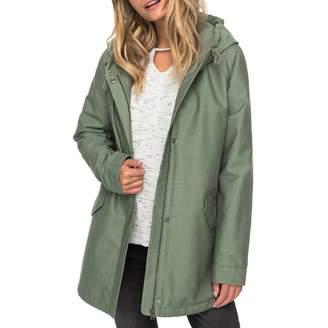 Green Sunny Fly Away Hooded Jacket