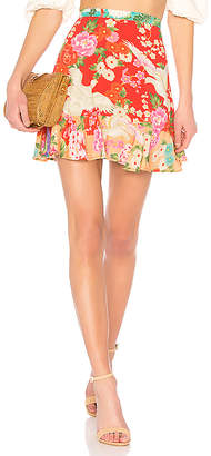 Spell & The Gypsy Collective x REVOLVE Delilah Patchwork Mini Skirt