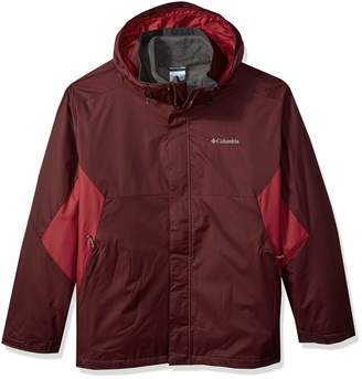 Columbia Men's Eager Air Big & Tall Interchange Jacket