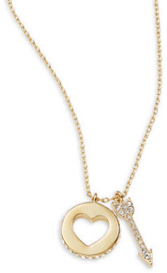 Kate SpadeKate Spade New York Be Mine Heart and Arrow Necklace