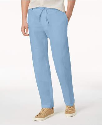 INC International Concepts I.n.c. Men Linen Drawstring Pants